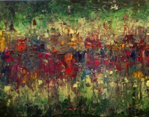 Tesserae, 30x40, oil on canvas