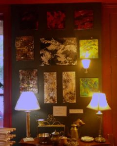 Abstracts for sale at HFL Gallery NOLA